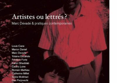 Beautés, Artistes ou lettrés, Mac Devade & pratiques contemporaines, Lienart (couverture)