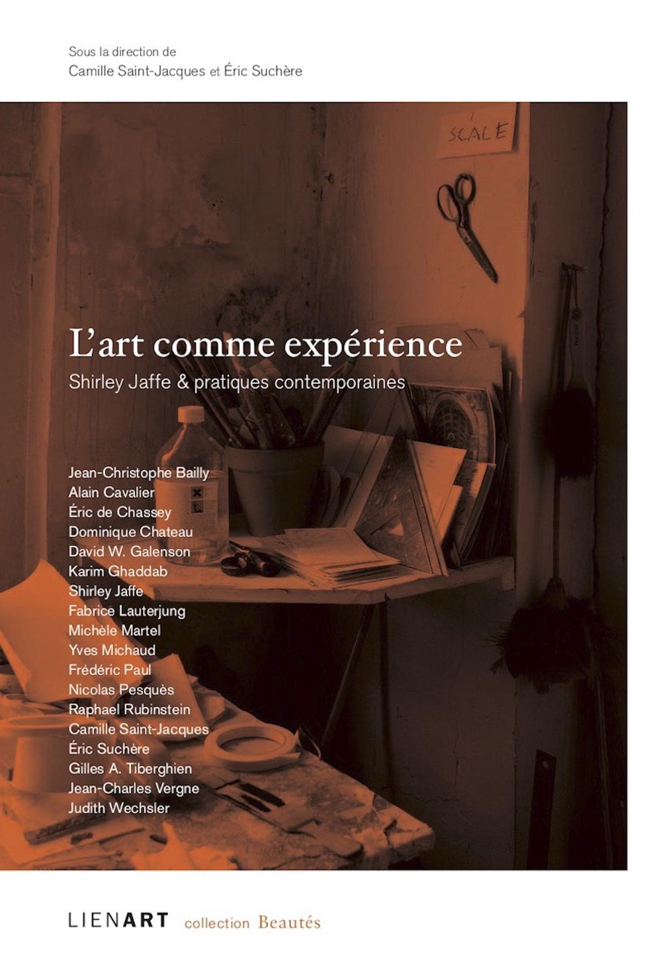L'Art comme expérience, Shirley Jaffe &pratiques contemporaines
