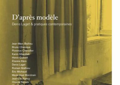 Beautés, D'après modèle, Denis Laget & pratiques contemporaines, Lienart (couverture)