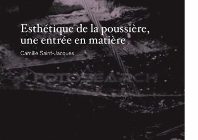 Beautés, Camille Saint-Jacques, Esthétique de la poussière, une entrée en matière, Lienart (couverture)
