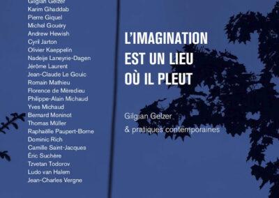 Beautés, L'imagination est un lieu où il pleut, Gilgian Gelzer & pratiques contemporainesGalerie Jean Fournier / FRAC Auvergne (couverture)