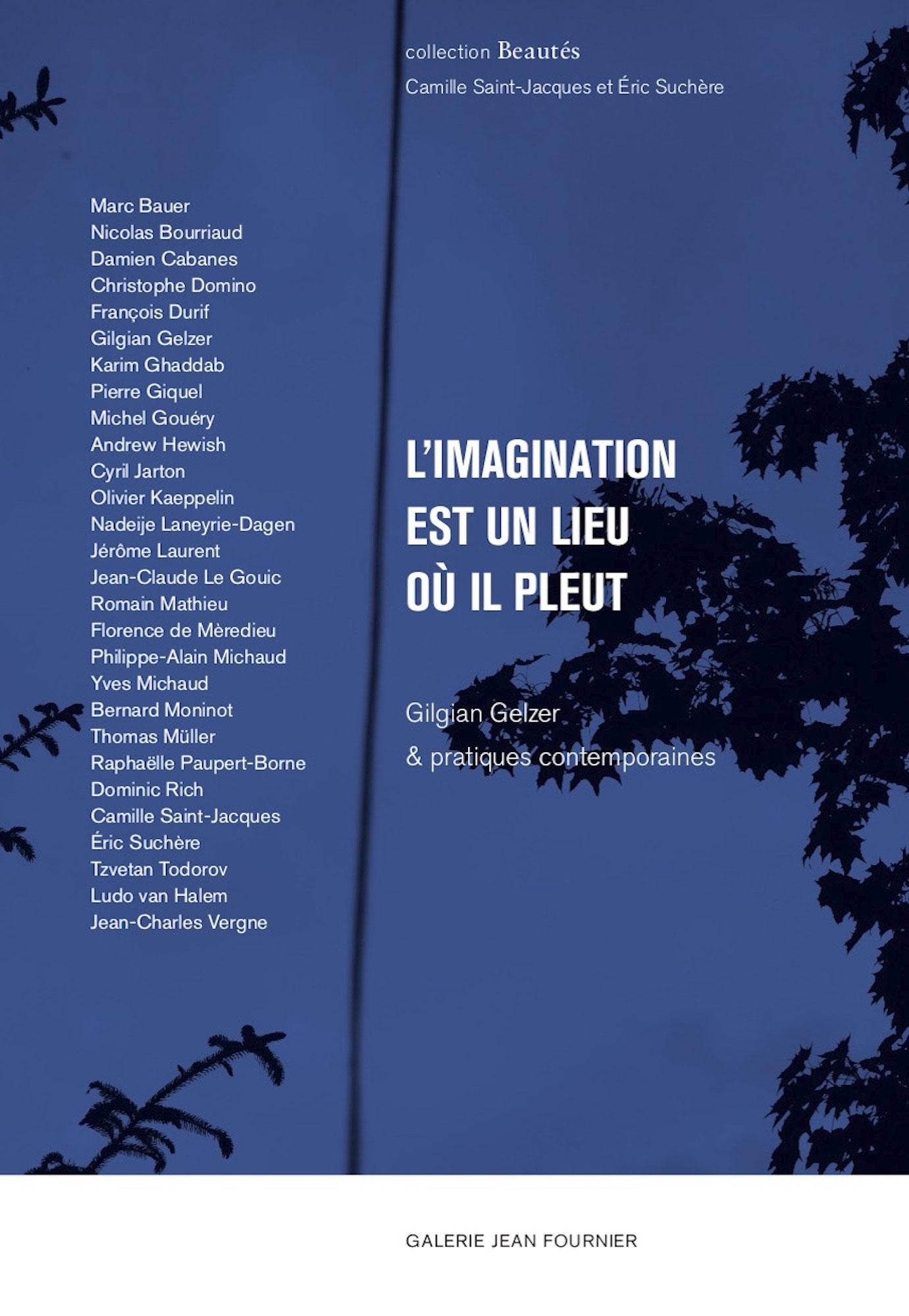 L'imagination est un lieu où il pleut, Gilgian Gelzer &pratiques contemporaines