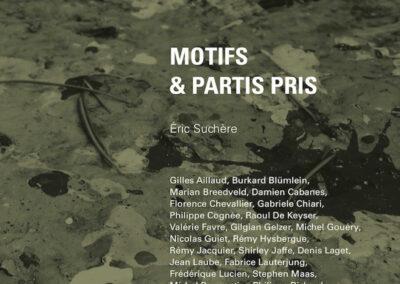 Beautés, Éric Suchère, Motifs et partis pris, Galerie Jean Fournier / FRAC Auvergne (couverture)