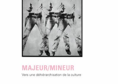 Beautés, Majeur / mineur, vers une déhiérarchisation de la culture, L'Atelier contemporain / Frac Auvergne (couverture)