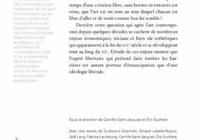 Beautés, Majeur / mineur, vers une déhiérarchisation de la culture, L'Atelier contemporain / Frac Auvergne (4e de couverture)