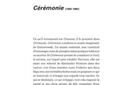 Éric Suchère, Gasiorowski – Peinture – Fiction, Le 19 / Frac Auvergne (p. 174)