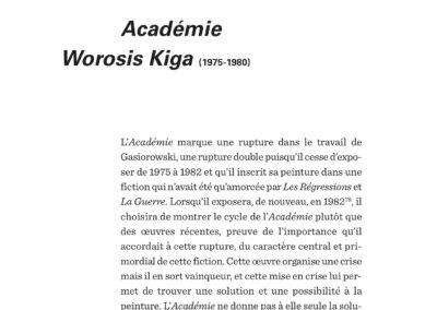 Éric Suchère, Gasiorowski – Peinture – Fiction, Le 19 / Frac Auvergne (p. 98)