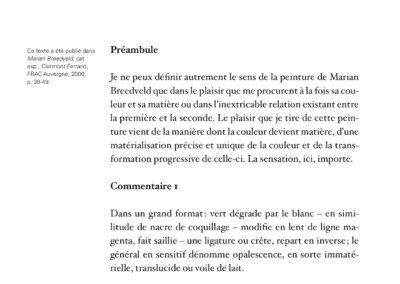 Éric Suchère, Motifs & partis pris, Galerie Jean Fournier / Frac Auvergne (p. 119)