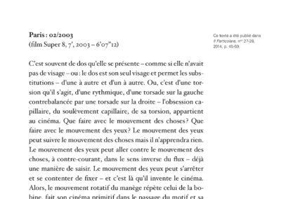 Éric Suchère, Motifs & partis pris, Galerie Jean Fournier / Frac Auvergne (p. 336)