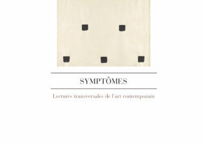 Éric Suchère, Symptômes, L'Atelier contemporain (couverture)