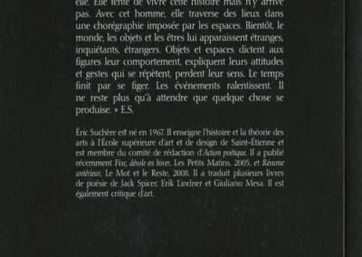 Éric Suchère, Nulle part quelque, Argol (4e de couverture)