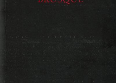 Éric Suchère, Brusque, Argol (couverture)
