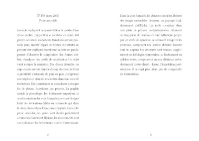 Éric Suchère, Fumées, Argol (p. 48-49)