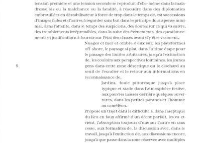 Éric Suchère, Trajectoires, Vies parallèles (p. 7)