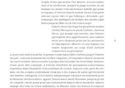 Éric Suchère, Trajectoires, Vies parallèles (p. 8)