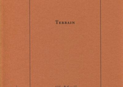 Erik Lindner, Terrain, cipM / Spectres Familiers (couverture)
