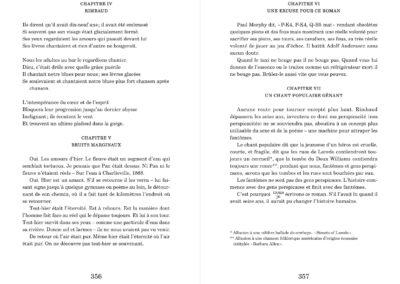 Jack Spicer, Élégies imaginaires, Vies parallèles (p. 356-357)