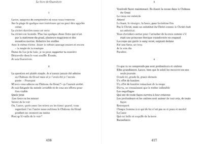 Jack Spicer, Élégies imaginaires, Vies parallèles (p. 416-417)