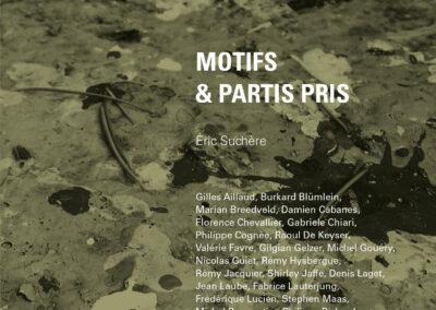 Éric Suchère, Motifs & partis pris, Galerie Jean Fournier / Frac Auvergne (couverture)