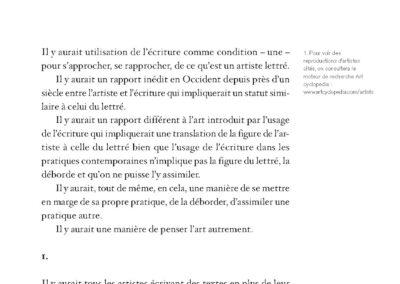 Collectif, Artistes ou lettrés, Mac Devade & pratiques contemporaines (p. 127)