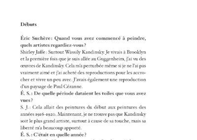 Collectif, L'Art comme expérience, Shirley Jaffe & pratiques contemporaines (p. 69)