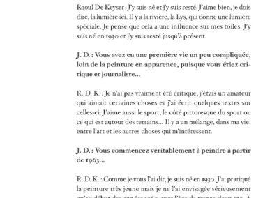 Collectif, Principe de légèreté, Raoul de Keyser & pratiques contemporaines (p. 150)