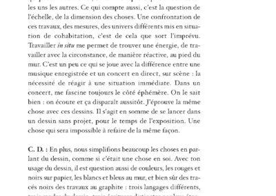 Collectif, L'imagination est un lieu où il pleut, Gilgian Gelzer & pratiques contemporaines (p. 110)