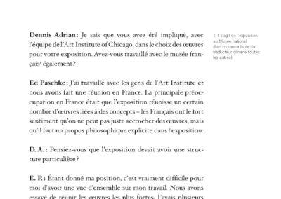 Collectif, La Transgression en question, Ed Paschke & pratiques contemporaines (p. 101)