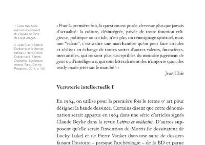 Collectif, Majeur / mineur, vers une déhiérarchisation de la culture (p. 6)