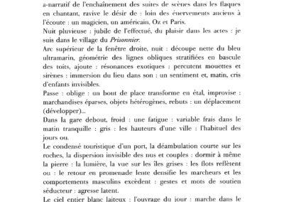 Éric Suchère, Le Souvenir de Ponge (p. 27)