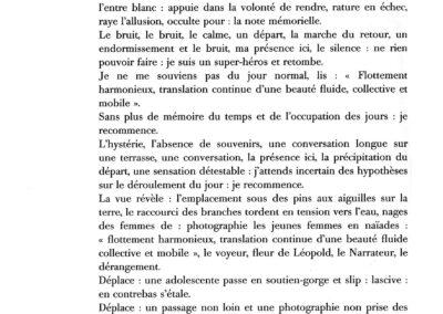 Éric Suchère, Le Souvenir de Ponge (p. 30)