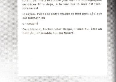 Éric Suchère, Fixe, désole en hiver (p. 48)
