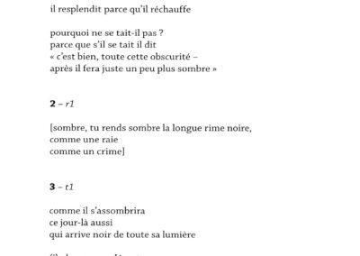 Giuliano Mesa, Quatre cahiers, Impromptus, 1995-1998 (p. 21)