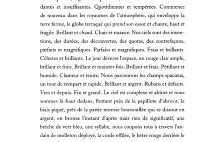 Lisa Robertson, Le Temps (p. 18)